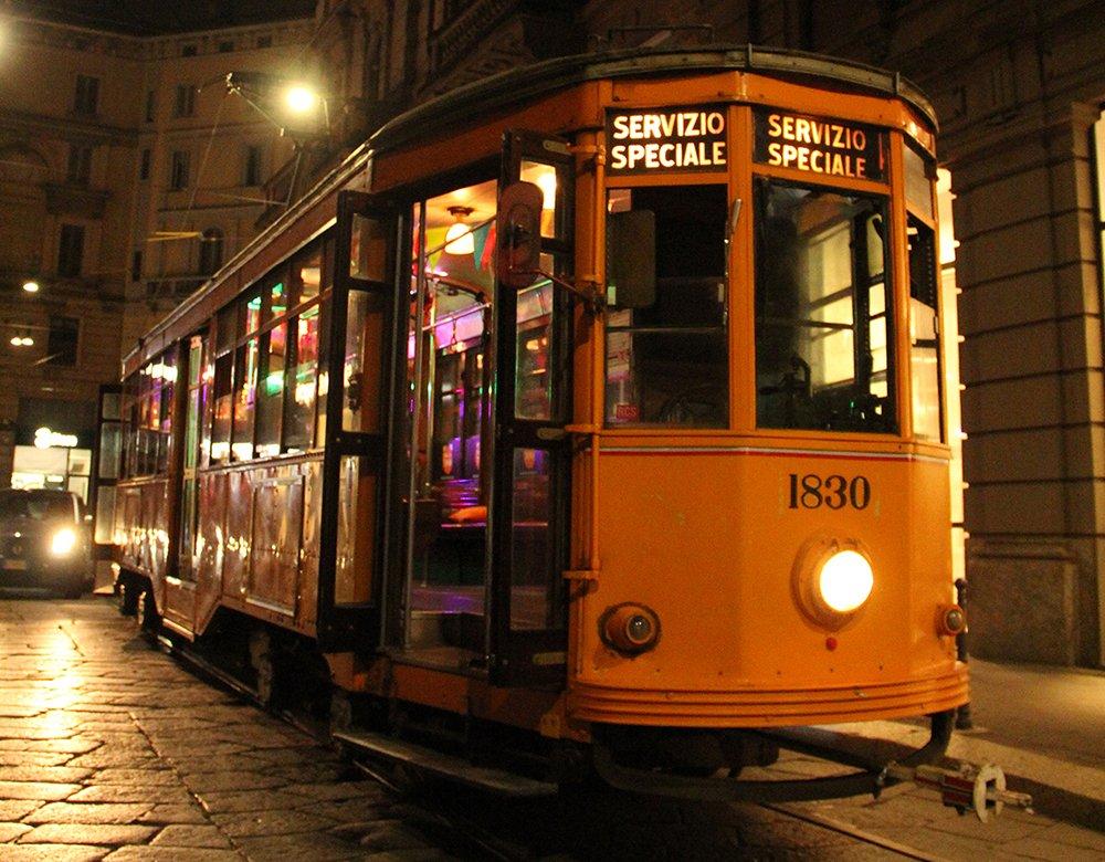 Festa in Tram a Milano